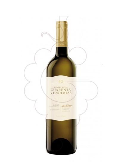 Photo Cuarenta Vendimias Sauvignon Blanc white wine