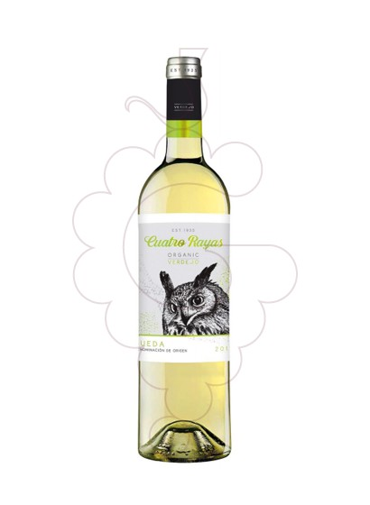 Photo Cuatro Rayas Verdejo white wine