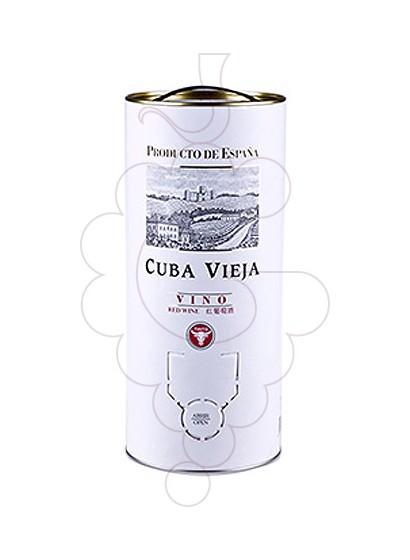 Photo Cuba Vieja Bag in Box red wine