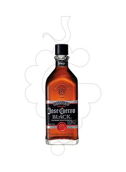 Photo Tequila Cuervo Black