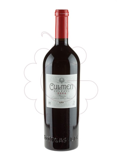 Photo Culmen Lan Reserva red wine