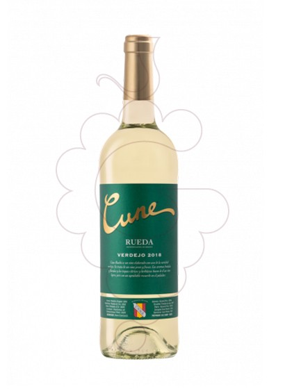Photo Cune Blanc Verdejo white wine