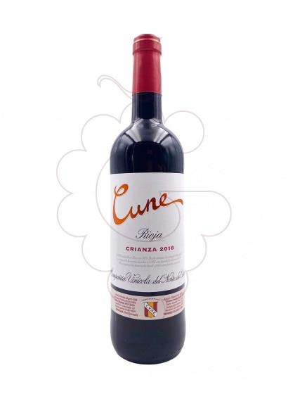 Photo Cune Crianza red wine