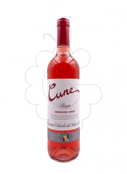 Photo Cune Rosat rosé wine