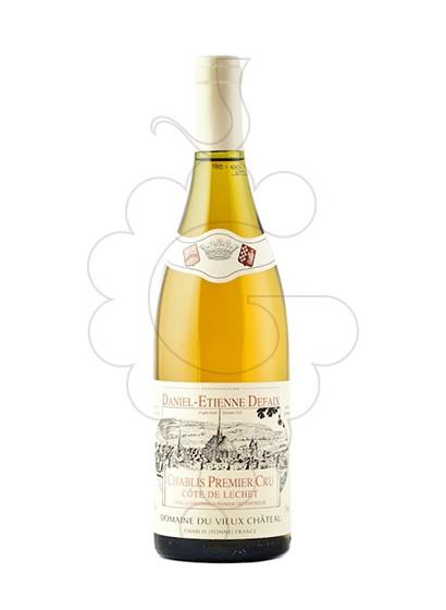 Photo Daniel-Etienne Defaix Chablis 1er Cru Côte de Léchet white wine