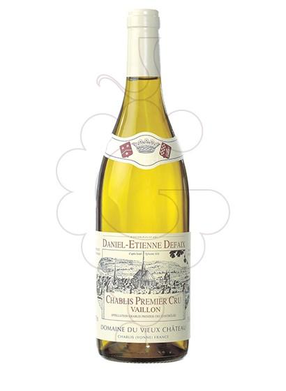 Photo Daniel-Etienne Defaix Chablis 1er Cru Vaillons white wine