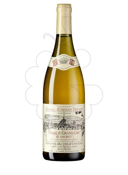 Photo Daniel-Etienne Defaix Chablis Grand Cru Blanchot white wine