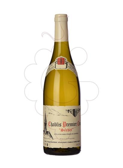 Photo Dauvissat Chablis 1er Cru Séchet white wine