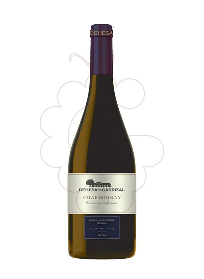 Photo Dehesa del Carrizal Chardonnay white wine