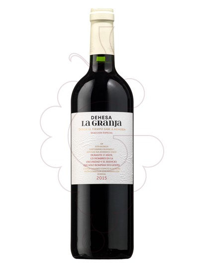 Photo Dehesa la Granja  red wine
