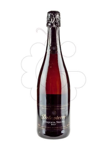 Photo Delapierre Etiqueta Negre Brut sparkling wine
