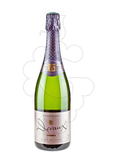 Photo Devaux Blanc de Noirs Brut sparkling wine