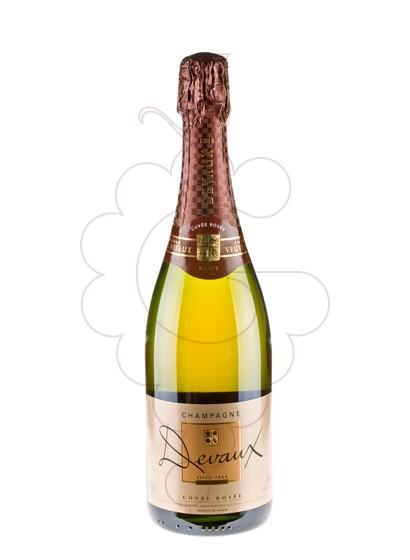 Photo Devaux Cuvée Rossé Brut sparkling wine