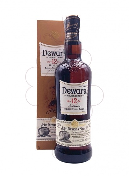 Photo Whisky Dewar's 12 Years
