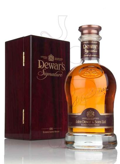 Photo Whisky Dewar's Signature