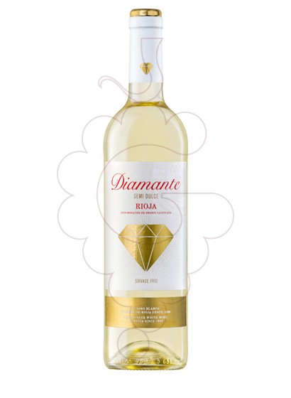 Photo Diamante Blanc Semi-Dolç white wine