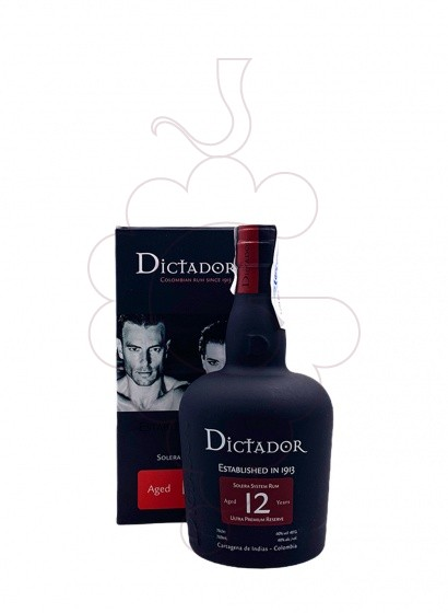 Photo Rum Dictador 12 Years