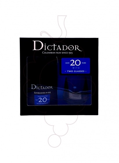 Photo Rum Dictador 20 Years