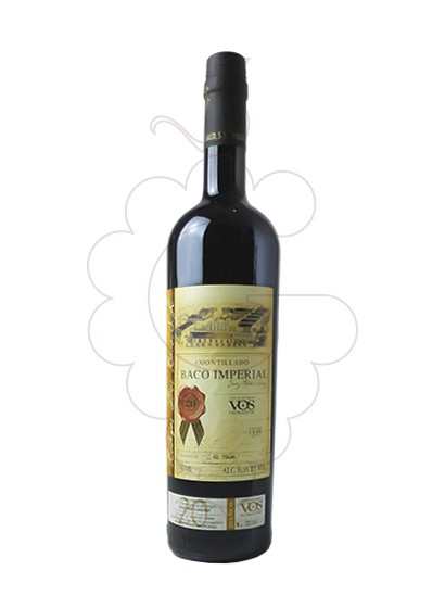 Photo Dios Baco Amontillado VOS fortified wine