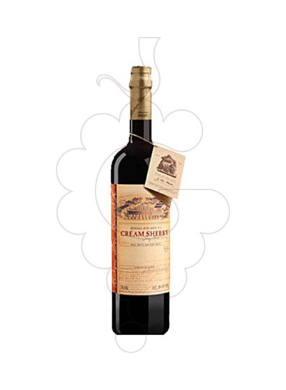 Photo Dios Baco Cream Sherry  fortified wine