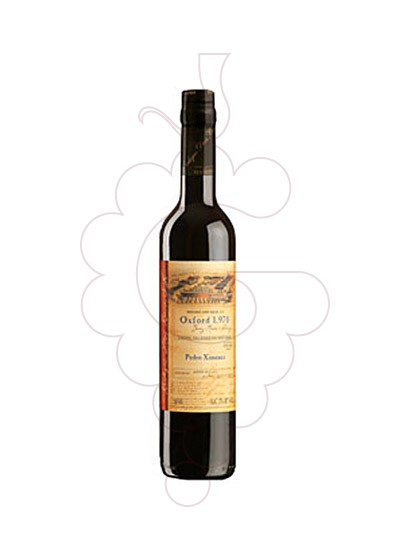 Photo Dios Baco P.X. Oxford  fortified wine