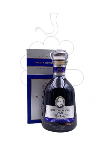 Photo Rum Diplomático Single Vintage