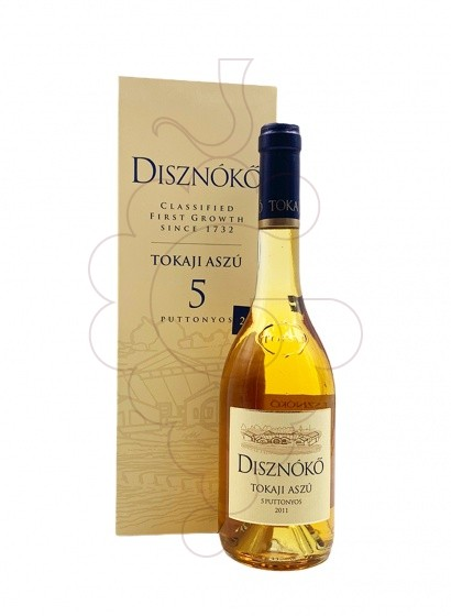 Photo Disznoko Tokaji Aszu 5 Puttonyos fortified wine