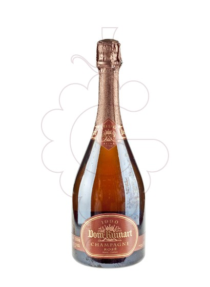 Photo Dom Ruinart Rose sparkling wine