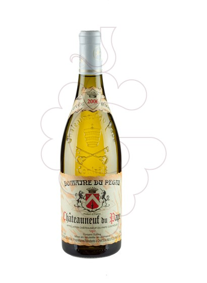 Photo White Domaine Du Pegau Chateauneuf white wine