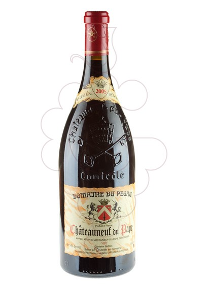 Photo Domaine Du Pegau Chateauneuf Magnum red wine