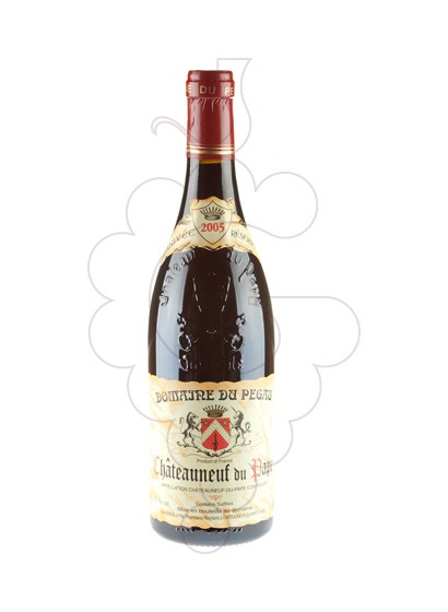 Photo Red Domaine Du Pegau Chateauneuf red wine