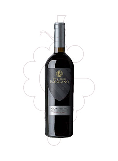 Photo Don Diego Escolano Gran Reserva red wine