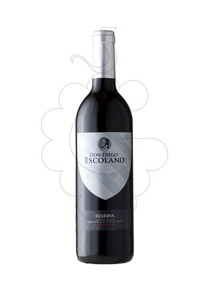 Photo Don Diego Escolano Reserva red wine
