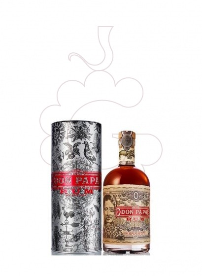 Photo Rum Pack Don Papa + Metallic Cup