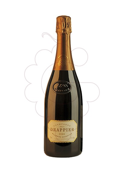 Photo Drappier Brut Millesime sparkling wine