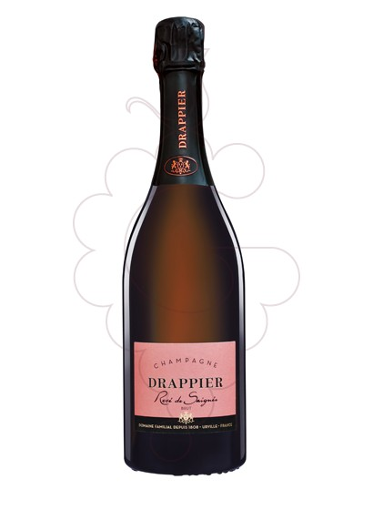 Photo Drappier Brut Rose sparkling wine