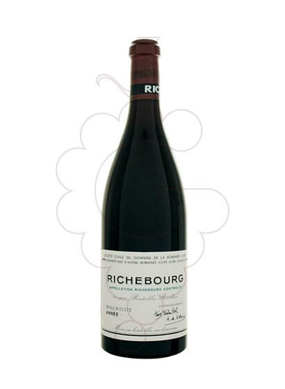 Photo DRC Richebourg red wine