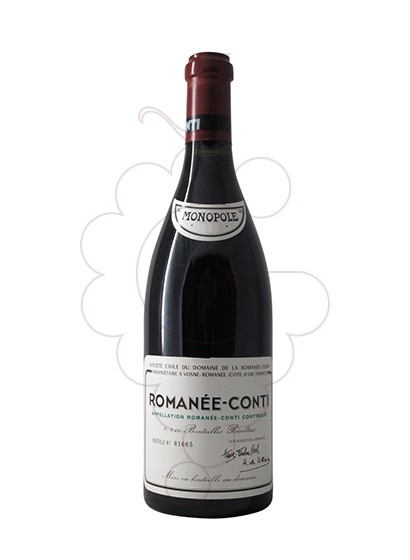 Photo DRC Romanee - Conti  red wine
