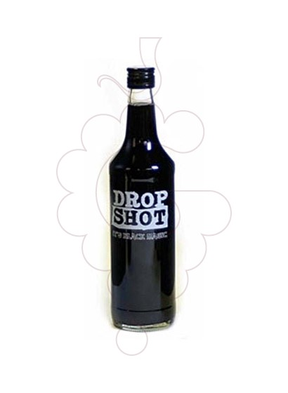 Photo Liqueur Drop Shot It's Black Magic