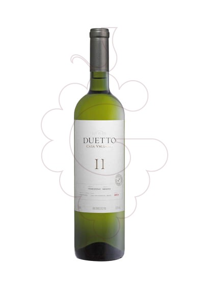 Photo Duetto Chardonnay-Riesling white wine