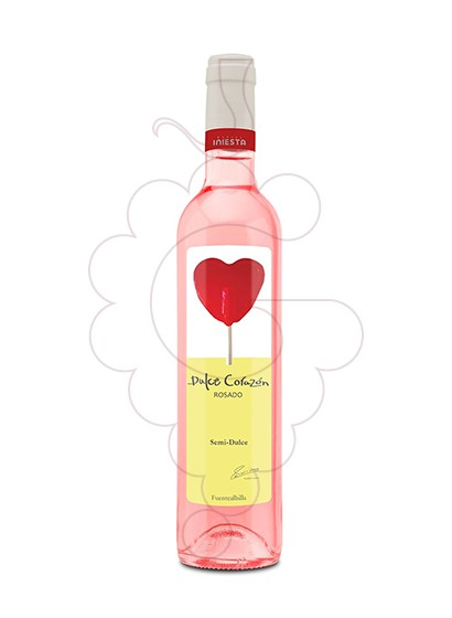 Photo Dulce Corazon Rosado Semi fortified wine