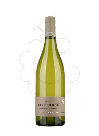 Photo Dupont-Fahn Bourgogne Blanc white wine