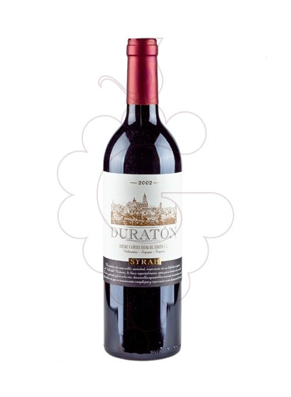 Photo Duraton Syrah red wine