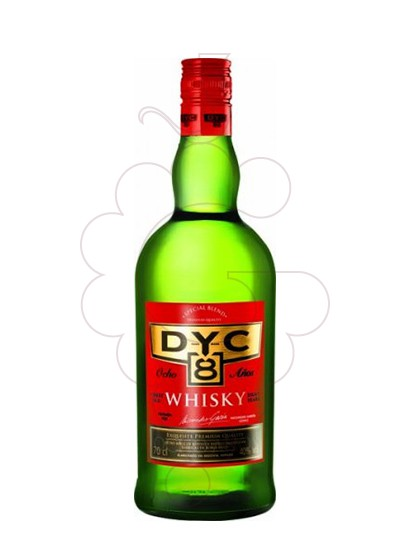 Photo Whisky Dyc 8 Years