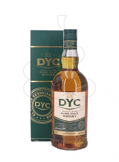 Photo Whisky Dyc Pure Malt