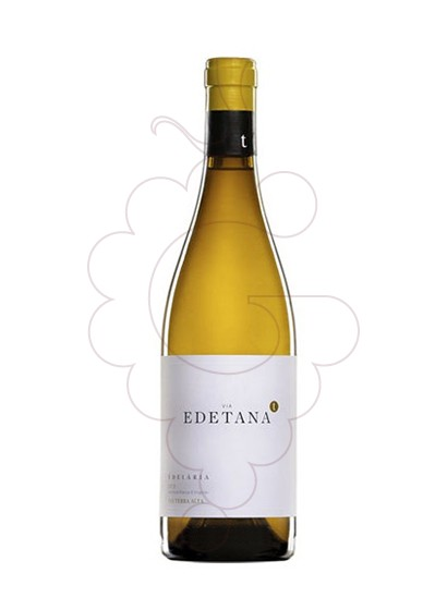 Photo Edetana Blanc  white wine