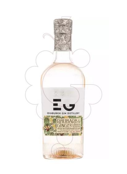 Photo Gin Edinburgh rhubarb & ginger 50c