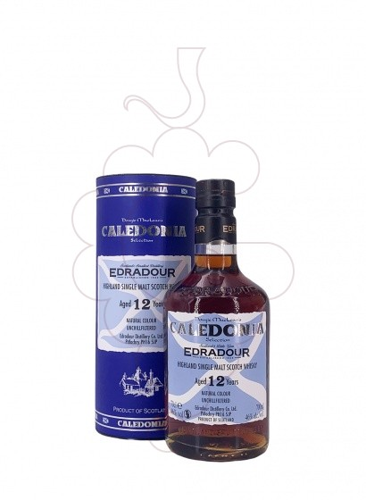 Photo Whisky Edradour Caledonia 12 Years