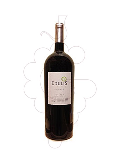 Photo Edulis Crianza Magnum red wine