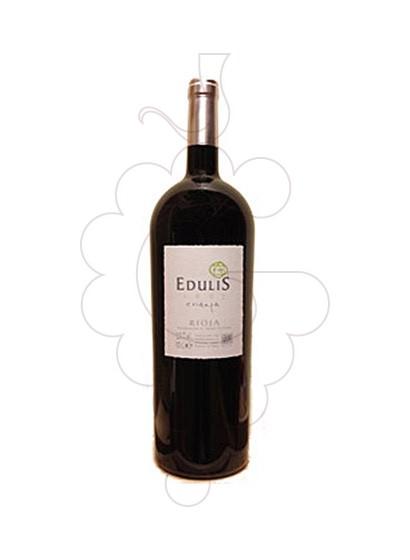 Photo Edulis Crianza Magnum red wine